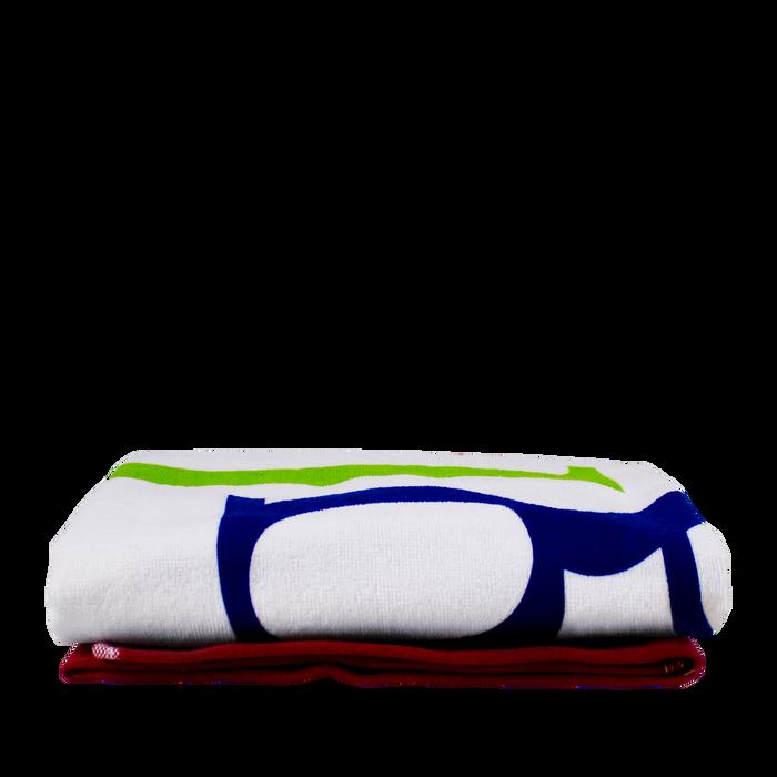 Colored Edge Beach Towel