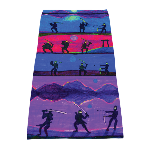 full color print towels,