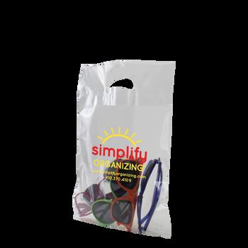 Small Die Cut Plastic Bag