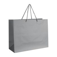 Platinum Medium Matte Shopper Bag Thumb