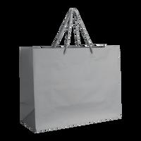 Platinum Medium Matte Shopper Bag Thumb