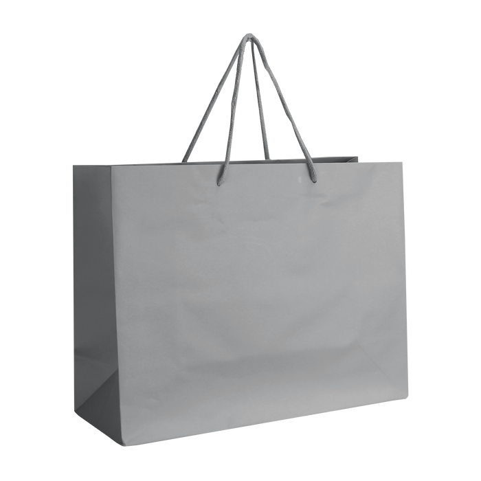 Platinum Medium Matte Shopper Bag