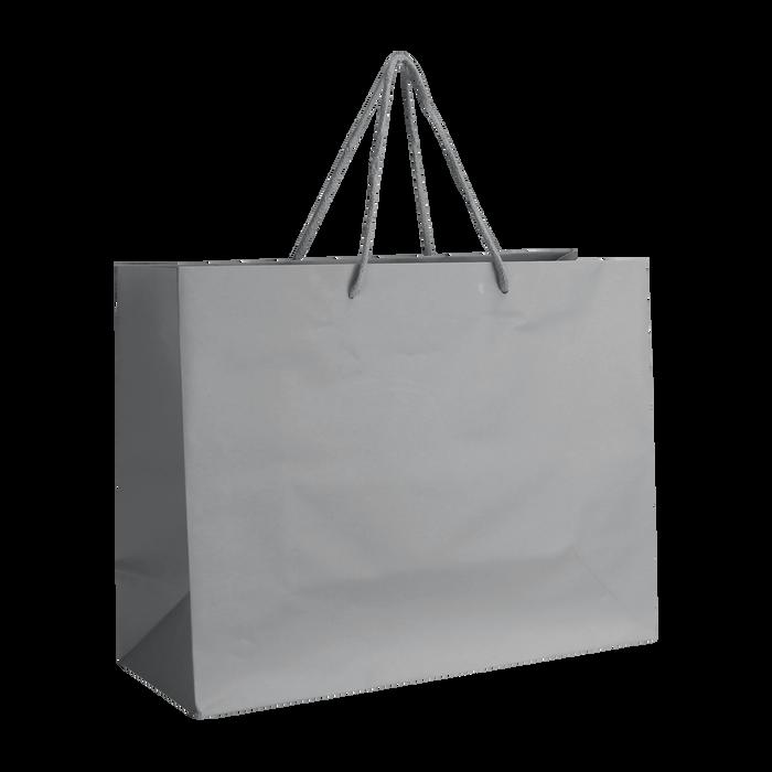 Platinum Medium Matte Shopper Bag