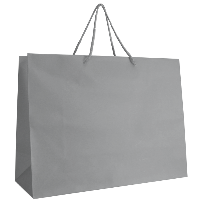 Platinum Large Matte Shopper Bag