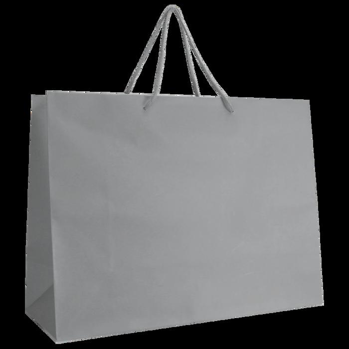Platinum Large Matte Shopper Bag