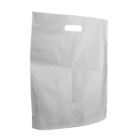 Clear Large Frosted Die Cut Bag Thumb
