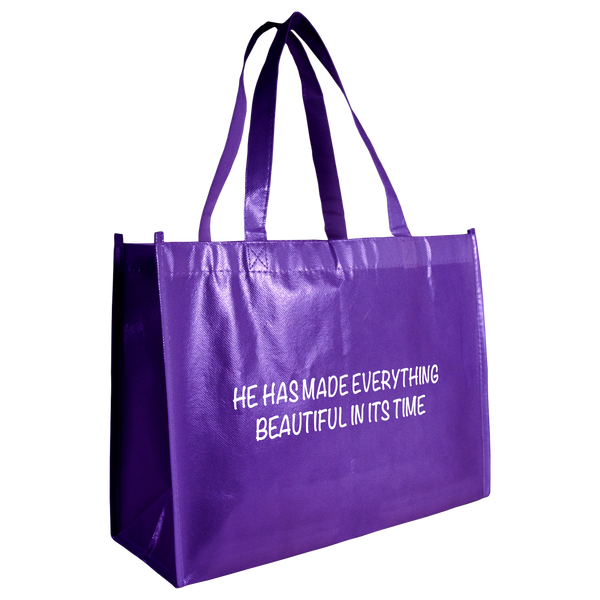 tote bags,  breast cancer awareness bags,  laminated bags,