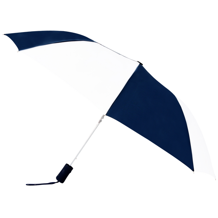 Navy/White Atlas Umbrella