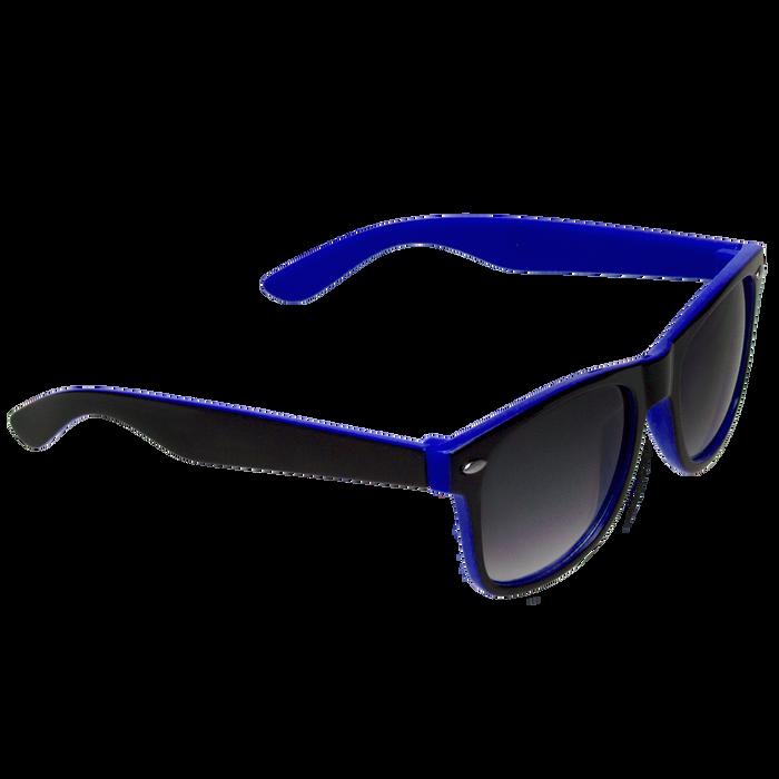Black/Royal Blue Daytona Sunglasses