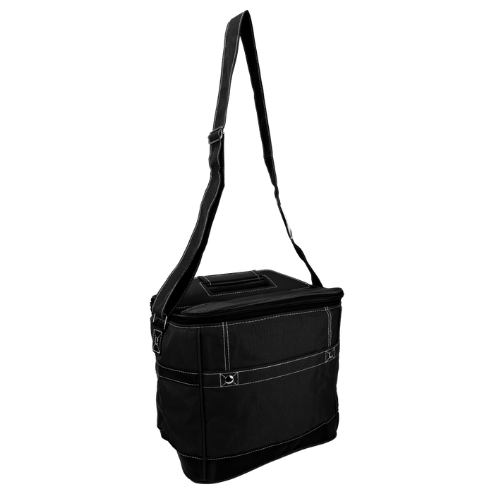 Black Urban Utility Cooler Tote