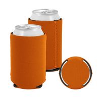 Texas Orange Premium Collapsible Neoprene Koozie Thumb