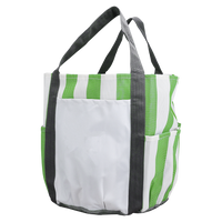 Lime Green Archipelago Beach Bag Thumb