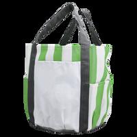 Lime Green Archipelago Beach Bag Thumb