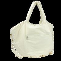 Beige Seaside Reversible Beach Bag Thumb