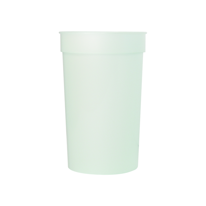 Green Color Changing Stadium Cup