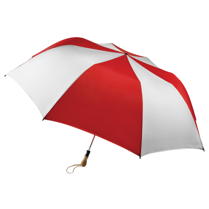 Red/White Leo Umbrella