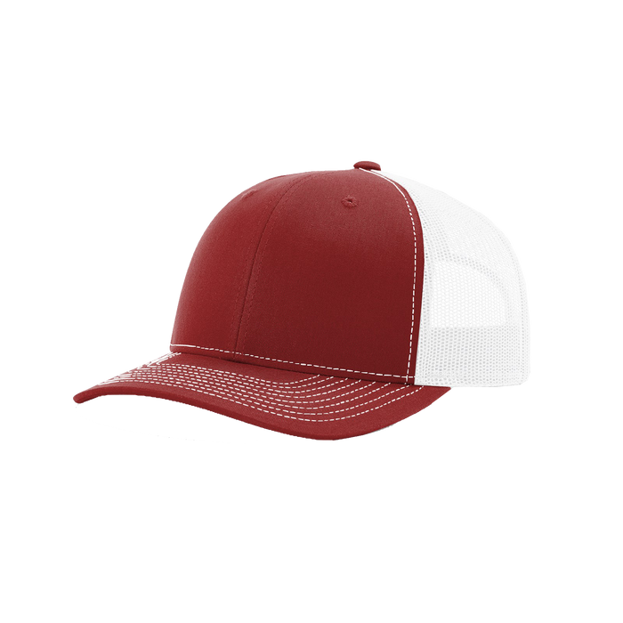 Cardinal/White Richardson Trucker Snapback Hat