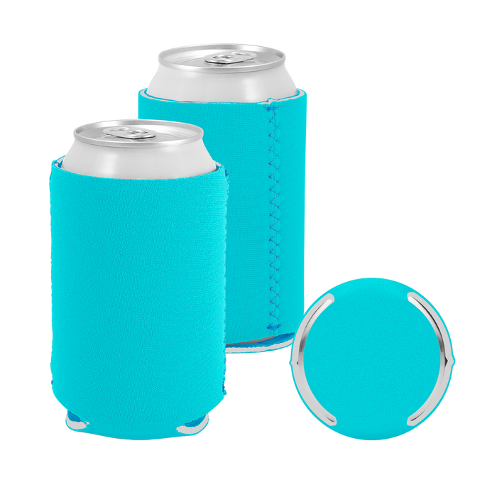 Tropical Premium Collapsible Neoprene Koozie