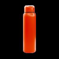 Matte Orange Vacuum Insulated Thermos Thumb