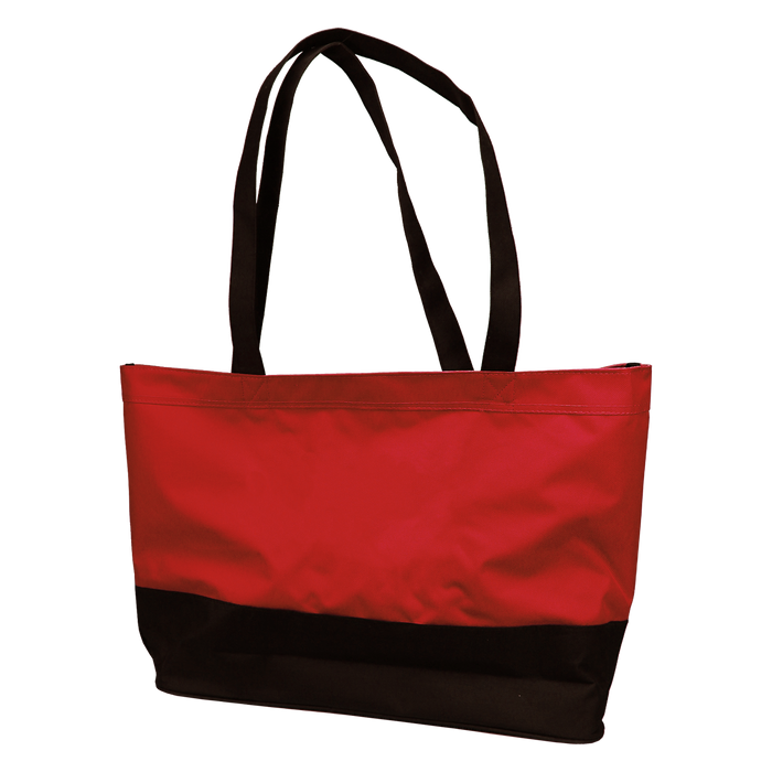 Red Promenade Beach Bag