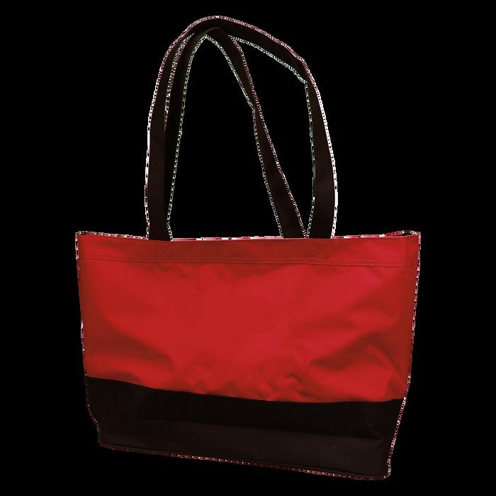 Red Promenade Beach Bag