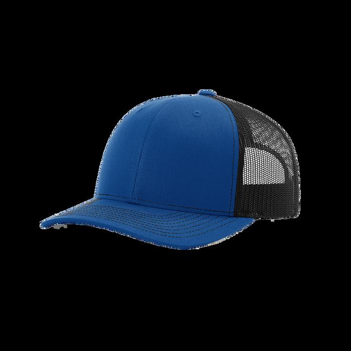 Royal/Black Richardson Trucker Snapback Hat