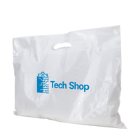 Extra Wide Die Cut Plastic Bag Thumb