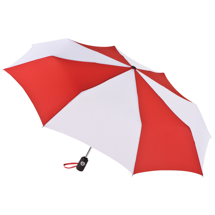 Red/White Aquarius totes® Umbrella