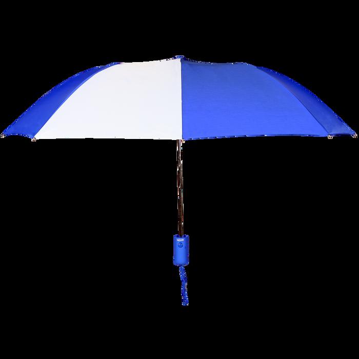 Royal/White Polaris Umbrella