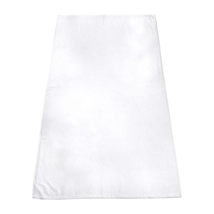 White Catalina White Beach Towel