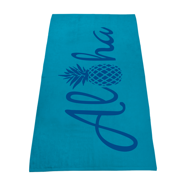 color beach towels,  imprinted beach towels,