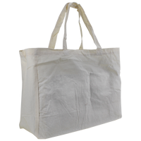 Natural Cotton Canvas Convention Tote Thumb