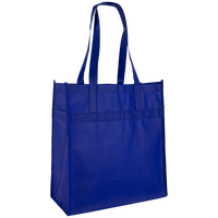 Royal Blue Little Tex Grocery Bag Thumb
