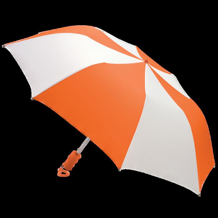 Orange/White Classic Umbrella