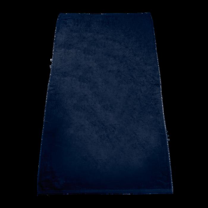 Navy Classic Color Beach Towel