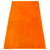 Orange Nautica Color Beach Towel Thumb