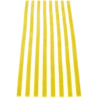 Yellow Latitude Plus Striped Beach Towel Thumb