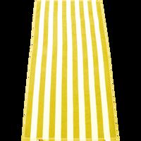 Yellow Latitude Plus Striped Beach Towel Thumb
