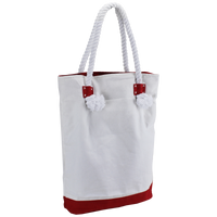 Red Catamaran Canvas Tote Thumb