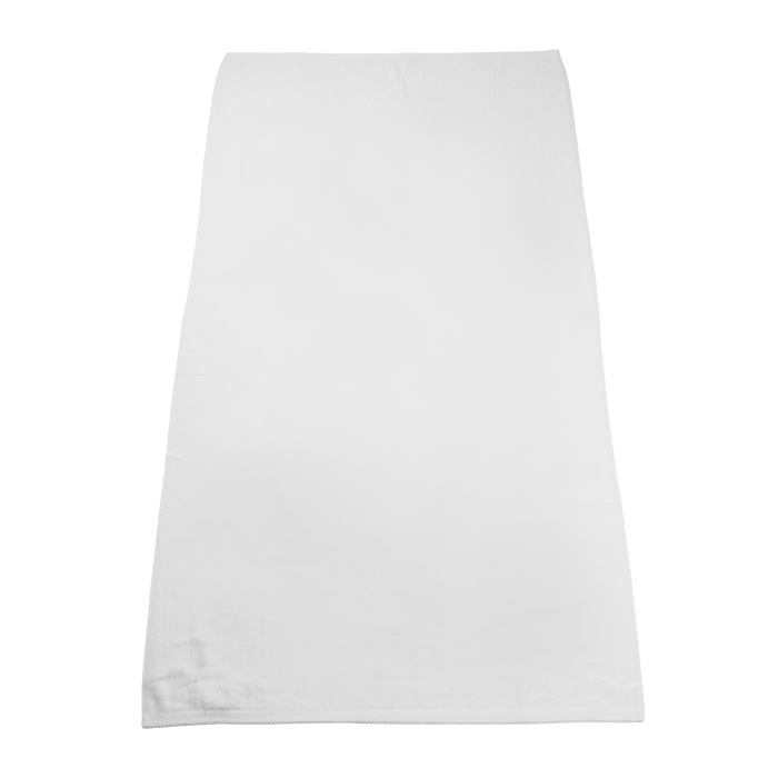 White Classic White Beach Towel