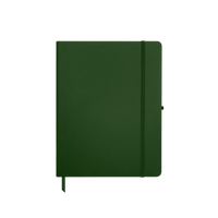 Hunter Green Medium Soft Faux Leather Journal Thumb