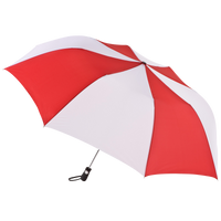 Red/White Stratus totes® Umbrella Thumb