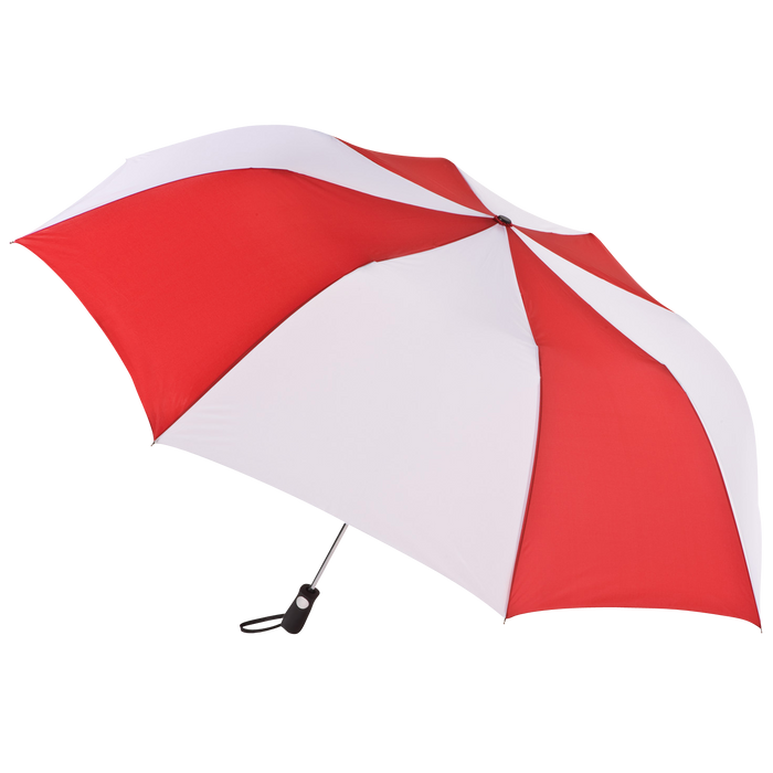 Red/White Stratus totes® Umbrella