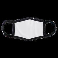 Black Full Color 3-Ply Mask Thumb