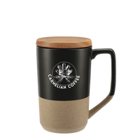 Ceramic Mug with Wood Lid Thumb