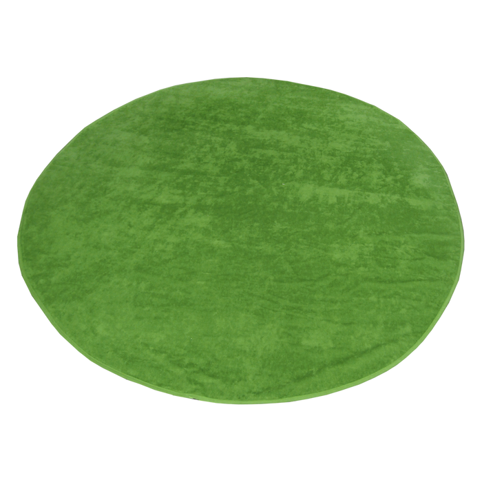 Lime Green Classic Color Round Beach Towel