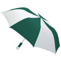 Hunter/White Classic Umbrella Thumb