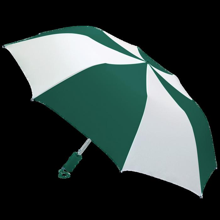 Hunter/White Classic Umbrella