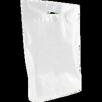 White Medium Eco-Friendly Die Cut Plastic Bag Thumb