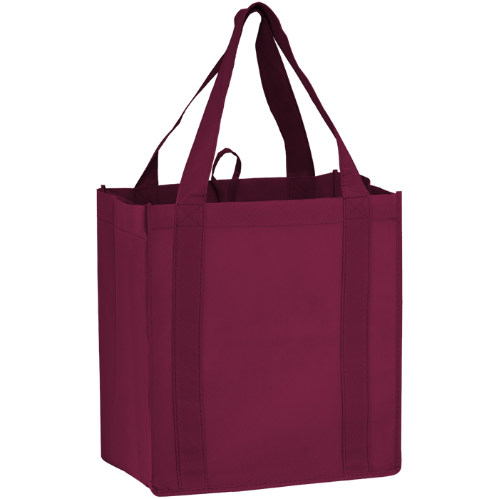 Burgundy Little Storm Grocery Bag
